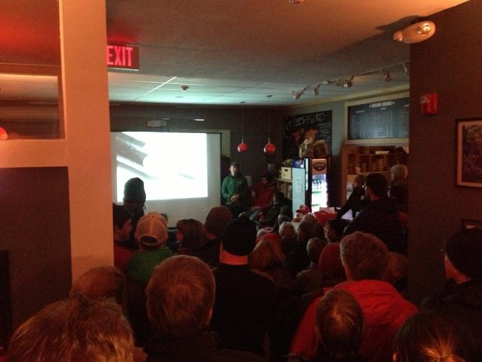 Evening presentation by USFS