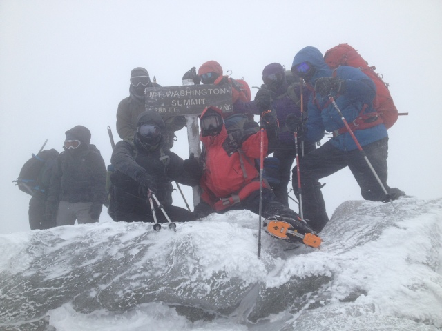 Has to be a summit photo!