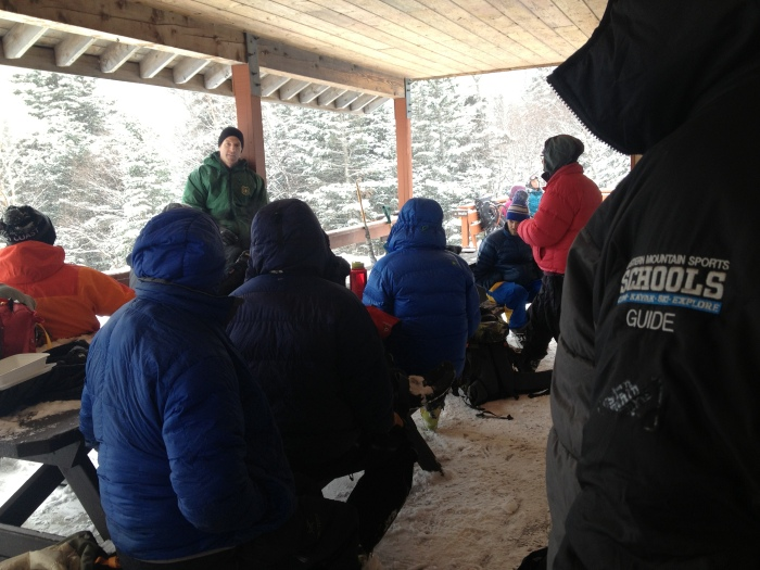 Chatting with USFS Snow Ranger, Jeff Lane