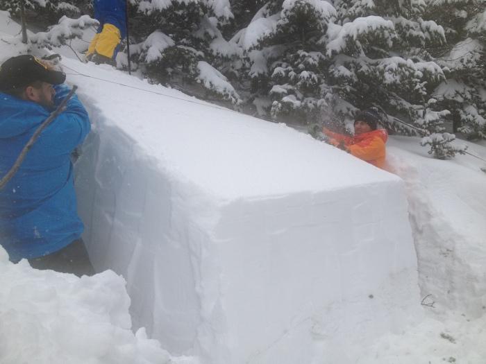 Esoteric info: RB 4, MB, 35cm down on older storm snow