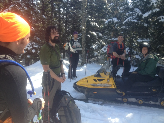 Quick chat with USFS Snow Ranger
