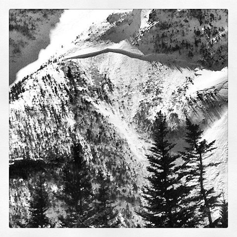 Photo by USFS Snow Ranger Joe Klementovich,  http://www.joeklementovich.com/