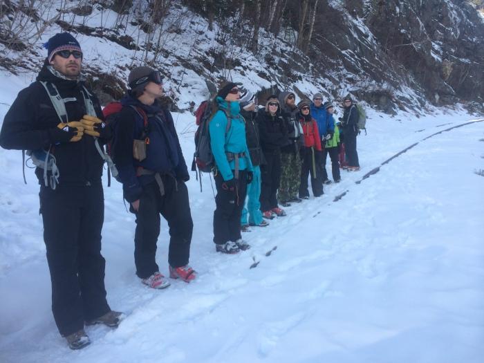 EMS Schools AIARE Avalanche Course