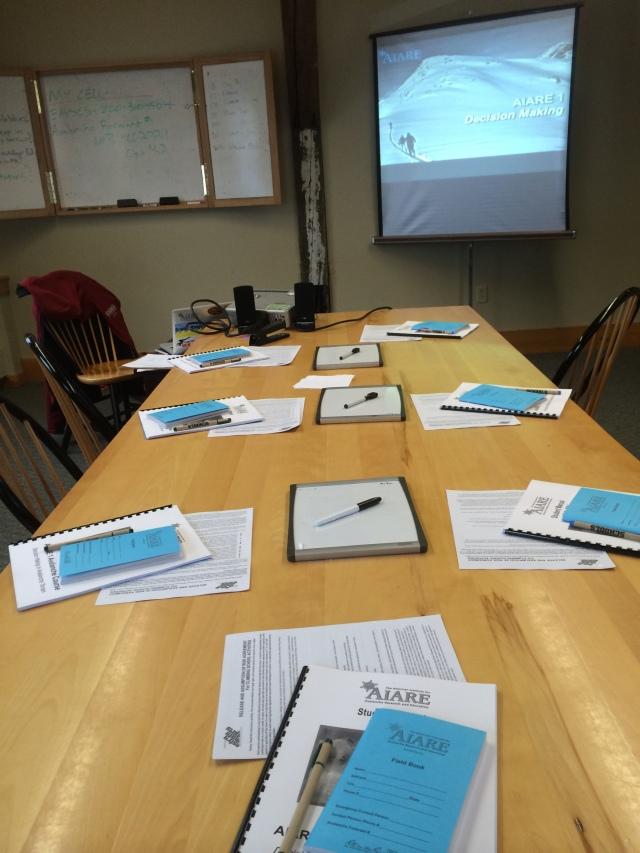 EMS Schools AIARE 1 Avalanche Course