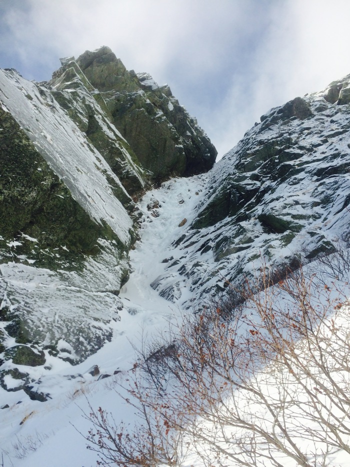 Pinnacle Gully looking good for November 20th!