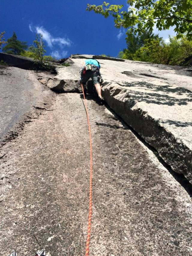The classic 2nd pitch of Old Route