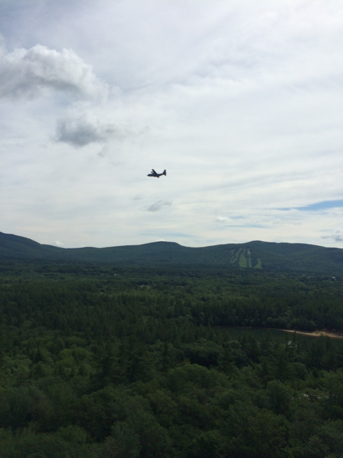 A low flying military C-130?