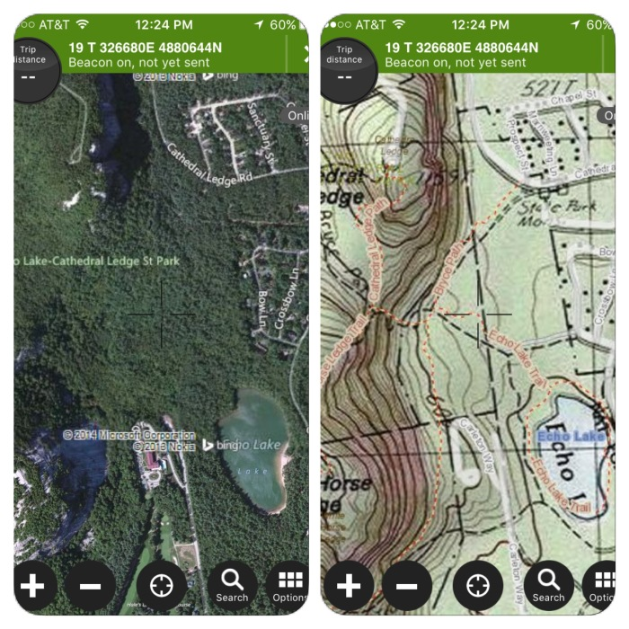 Satellite or USGS 24k Topo