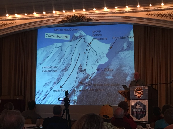 "Dr. Bruce Jamieson, presented on ""Warming of Dry Snow: Instability and Decision Making."""