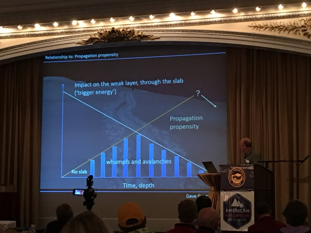 """Bruce Jamieson addressed """"Field Observations and Snowpack Tests: Which is Best When?"""""""