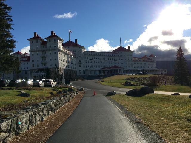 Our venue, the Omni Resorts Mount Washington Hotel