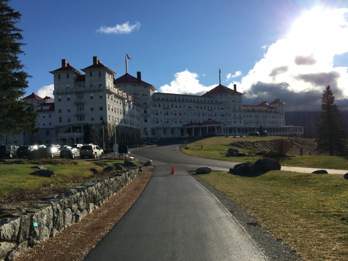 Our venue, the Omni Resorts Mount Washington Hotel