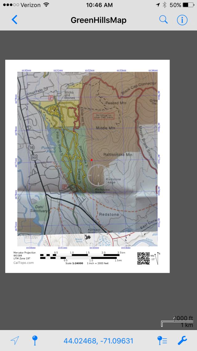 Green Hills Map