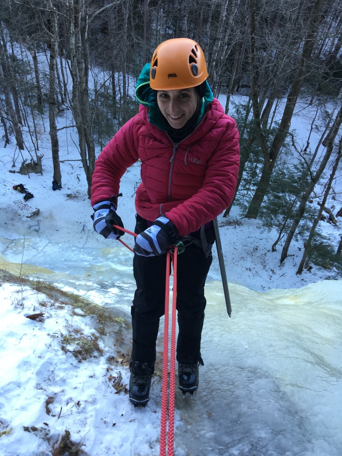 ice climbing cathedral ledge new hampshire