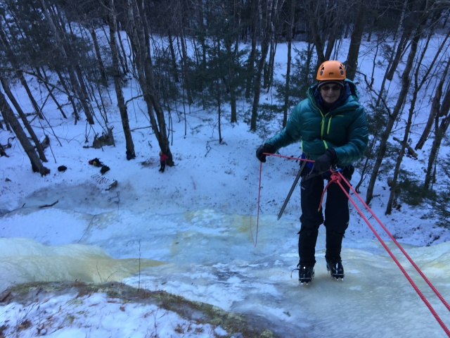 ice climbing cathedral ledge new hampshire