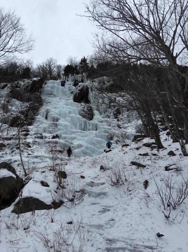 Standard Route, Frankenstein Cliff
