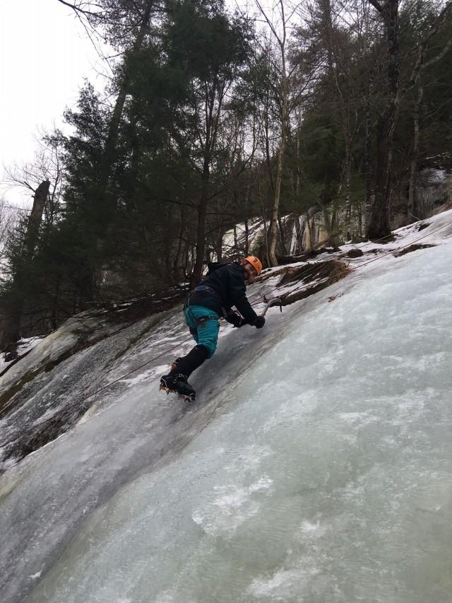 ice climbing new hampshire
