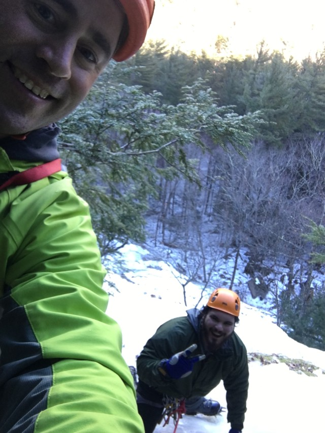 Ice Climbing New Hampshire