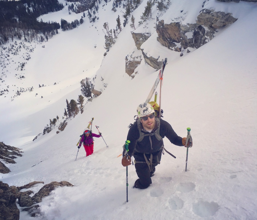 Photo courtesy of Jackson Hole Mountain Guides.