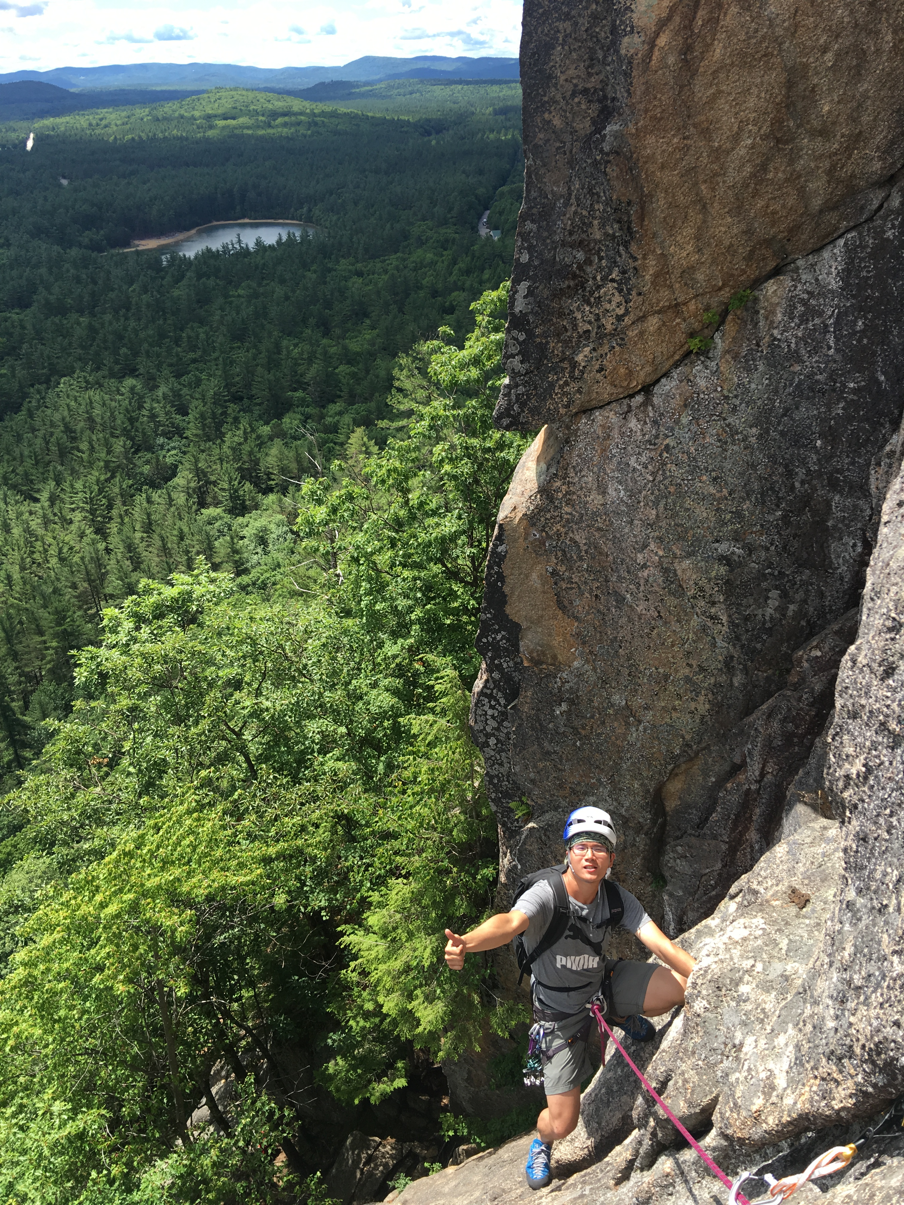 Cathedral Ledge Rock Climbing