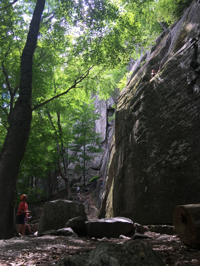 Rock Climbing New Hampshire
