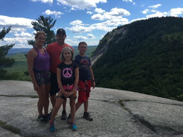 Rock Climbing New Hampshire