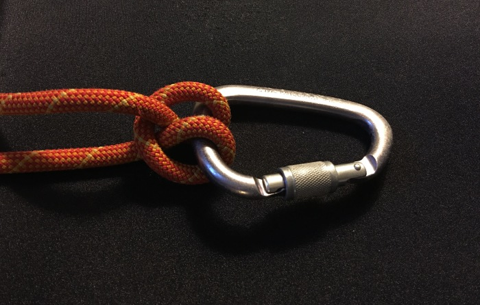 The One Handed Clove Hitch