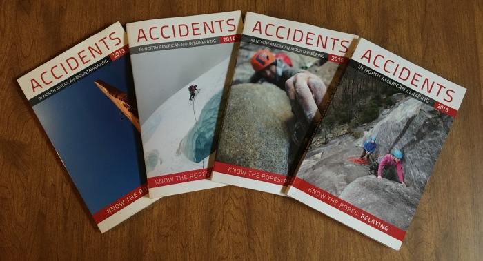 Accidents in North American Mountaineering (Climbing)