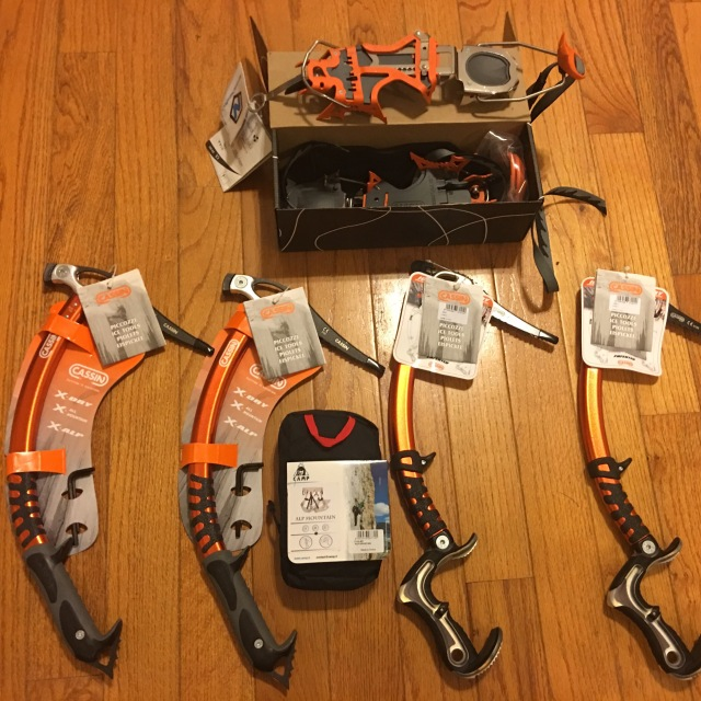CAMP USA Cassin Ice Tools/Crampons