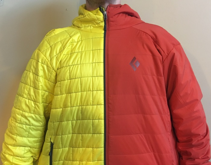 The Patagonia Nano Puff and Black Diamond First Light Hoody