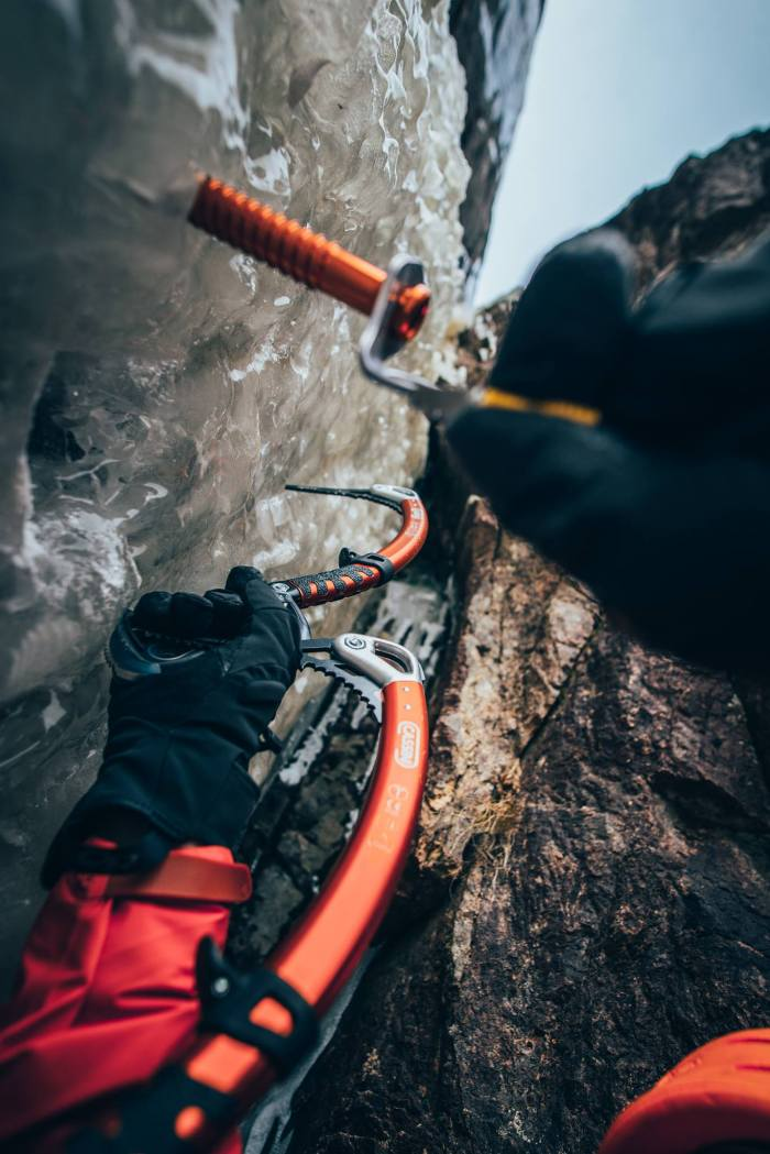 ice climbing screw review