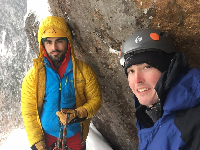 Ice Climbing Mount Willard