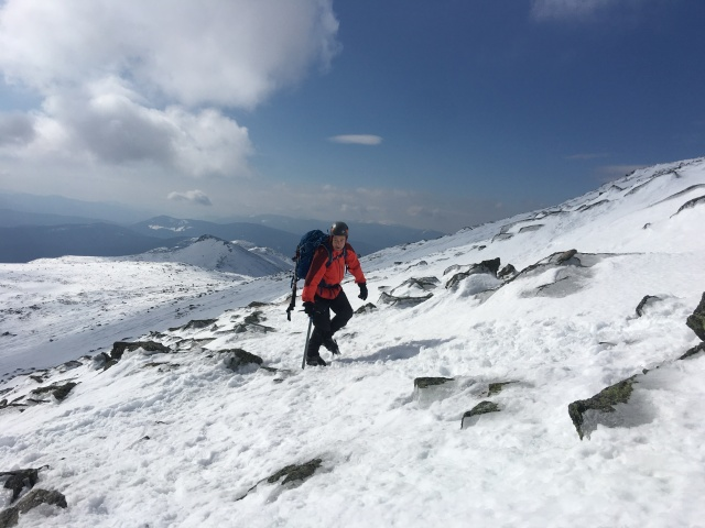 Climbing Mount Washington