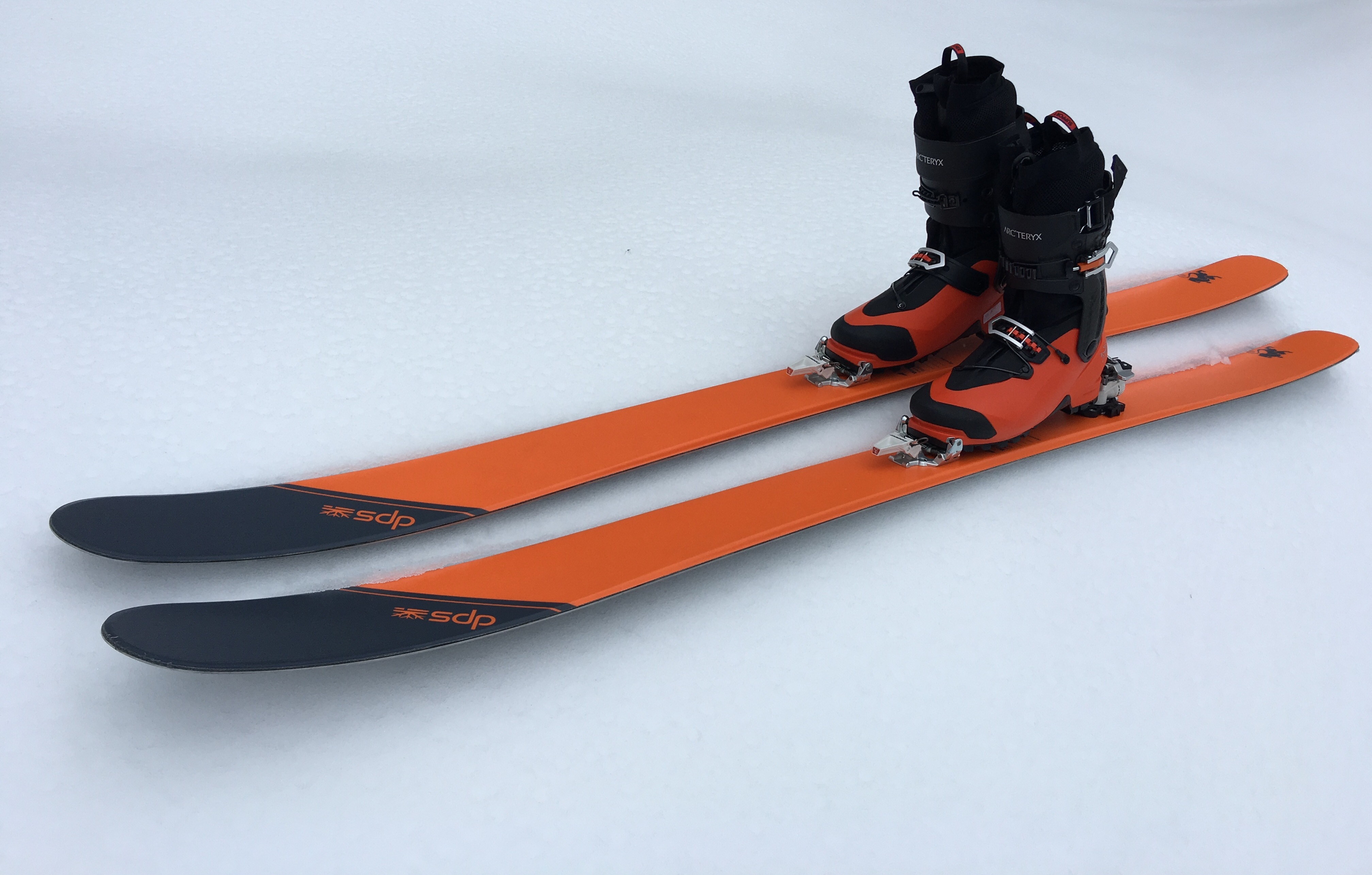 DPS Tour 1 Skis Arcteryx Procline Boots Dynafit Speed Radical Bindings