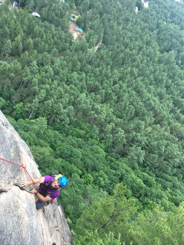 Rock Climbing Cathedral Ledge