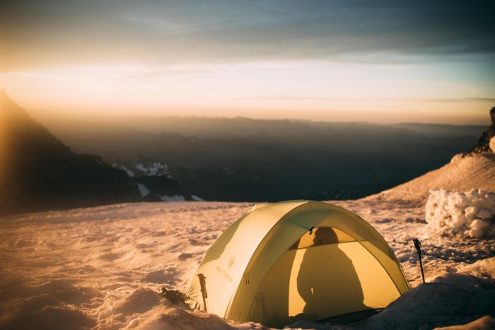 Black Diamond HiLight Tent, Mount Rainier