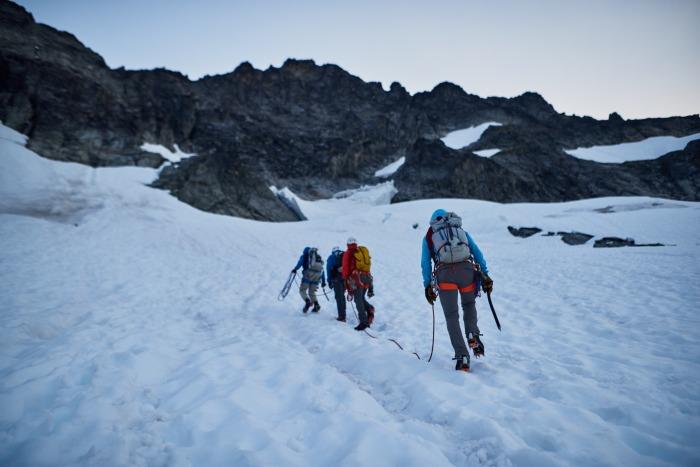 The West Ridge of Forbidden Peak
