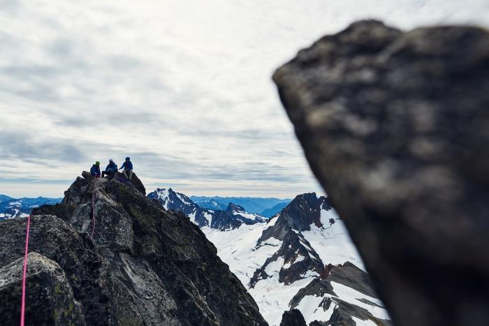 West Ridge of Forbidden Peak