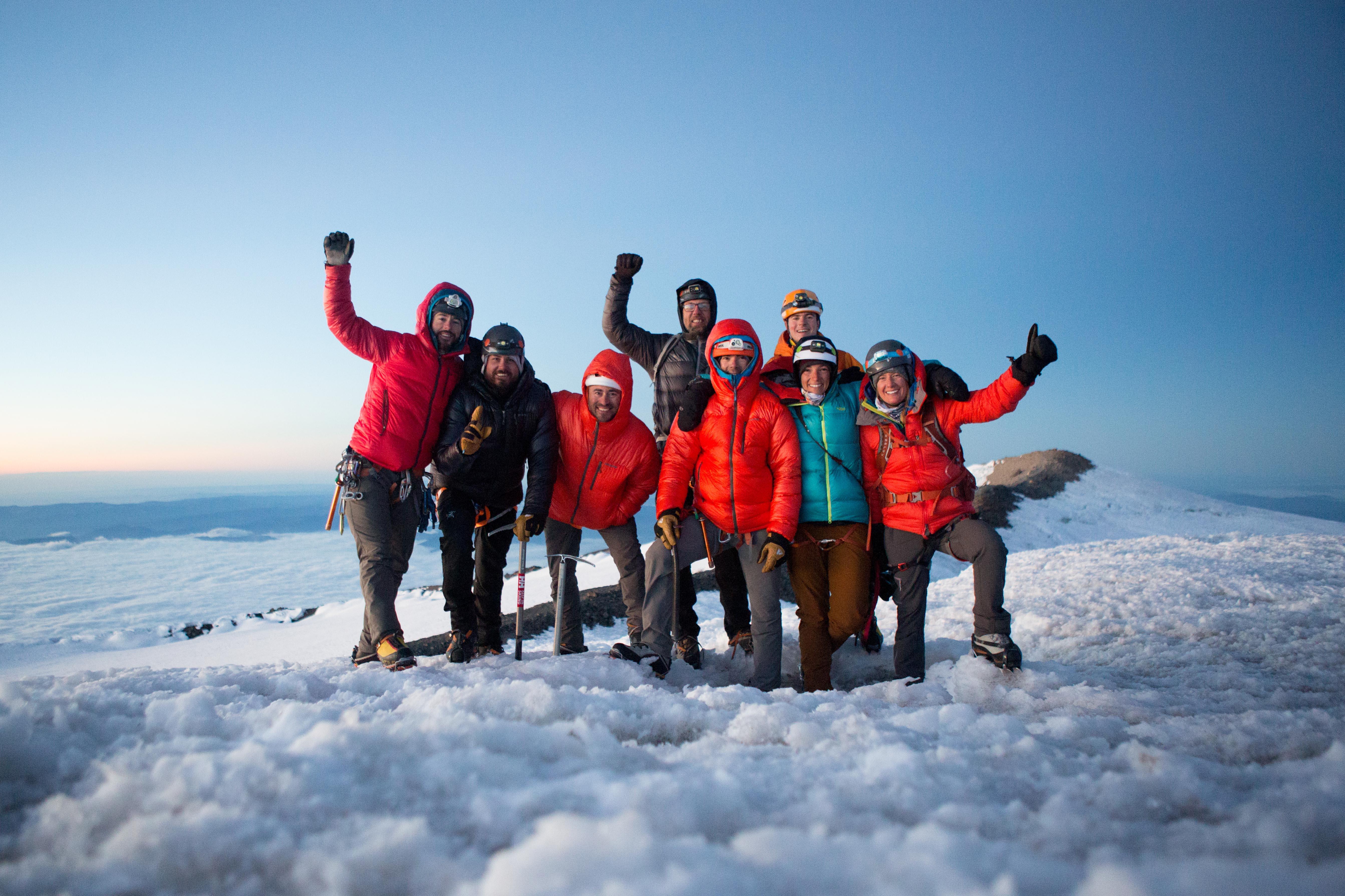 Climbing Mount Rainier