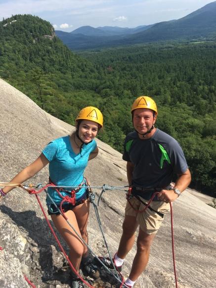 Rock Climbing Whitehorse Ledge and Cathedral Ledge