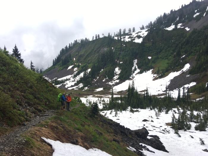 Lake Ann Trail, Fisher Chimney's, Mount Shuksan
