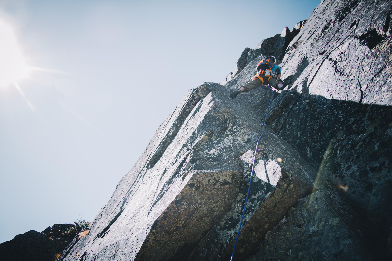 Northeast Ridge of the Pinnacle, Huntington Ravine