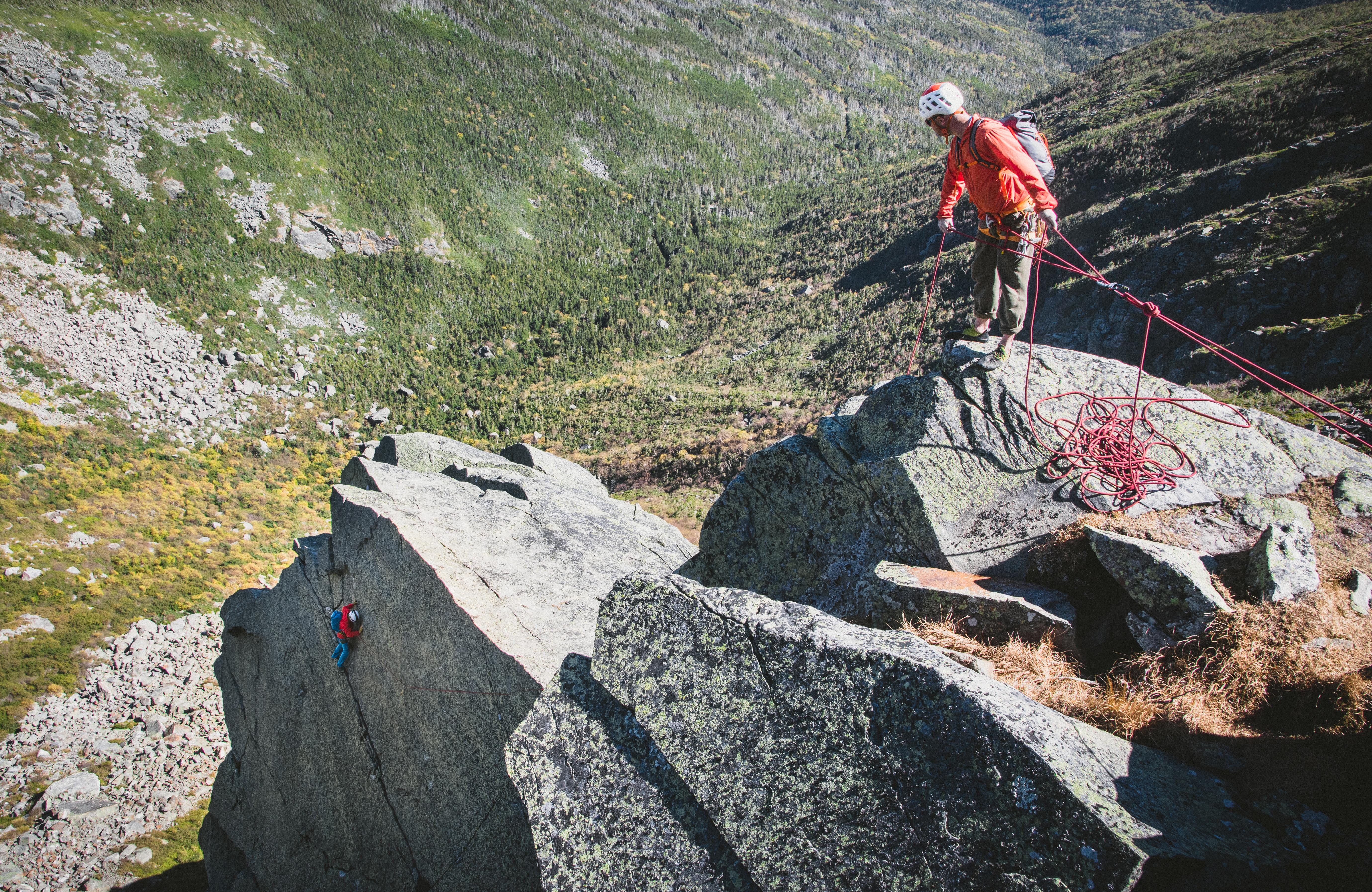 Northeast Ridge of the Pinnacle