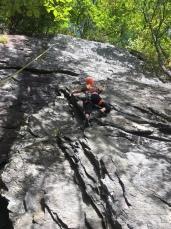 Rock Climbing Rumney NH