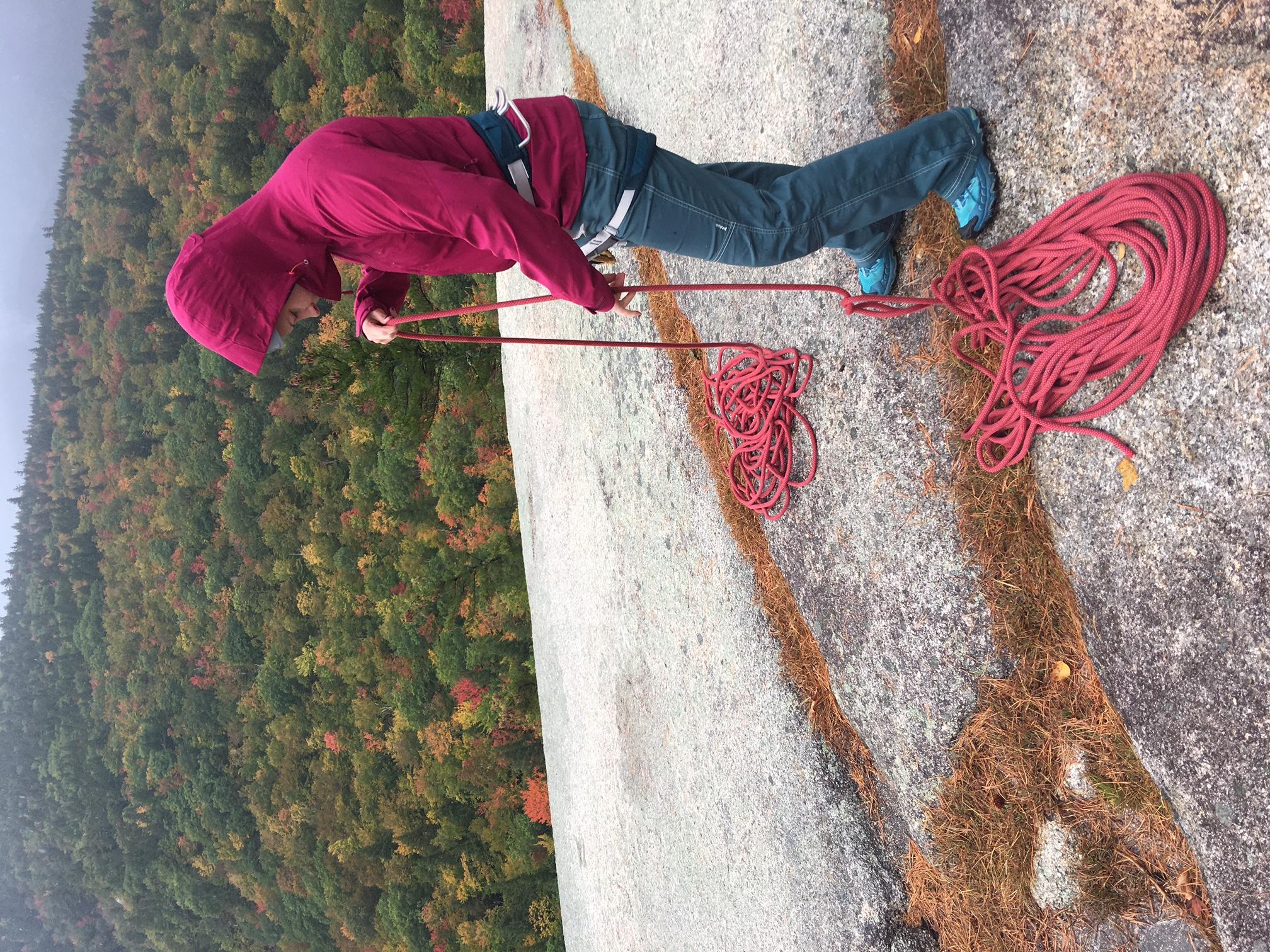 rock climbing self rescue