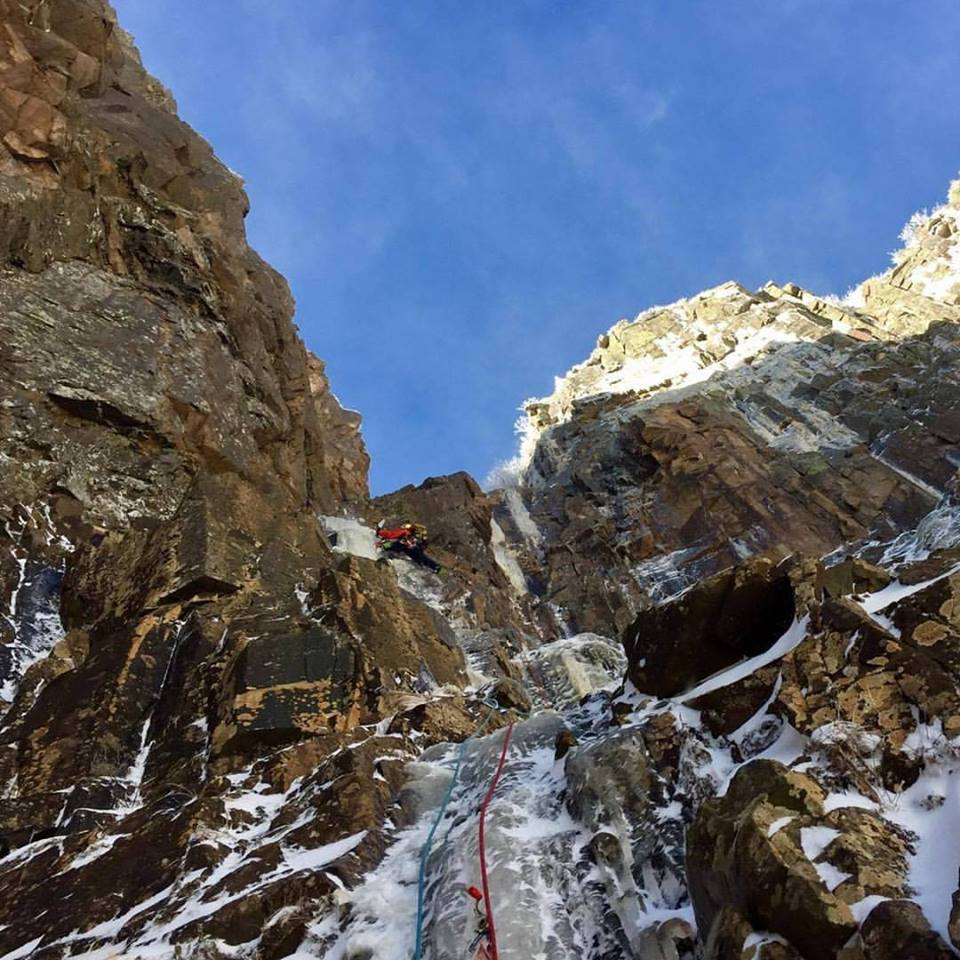 ice climbing black dike