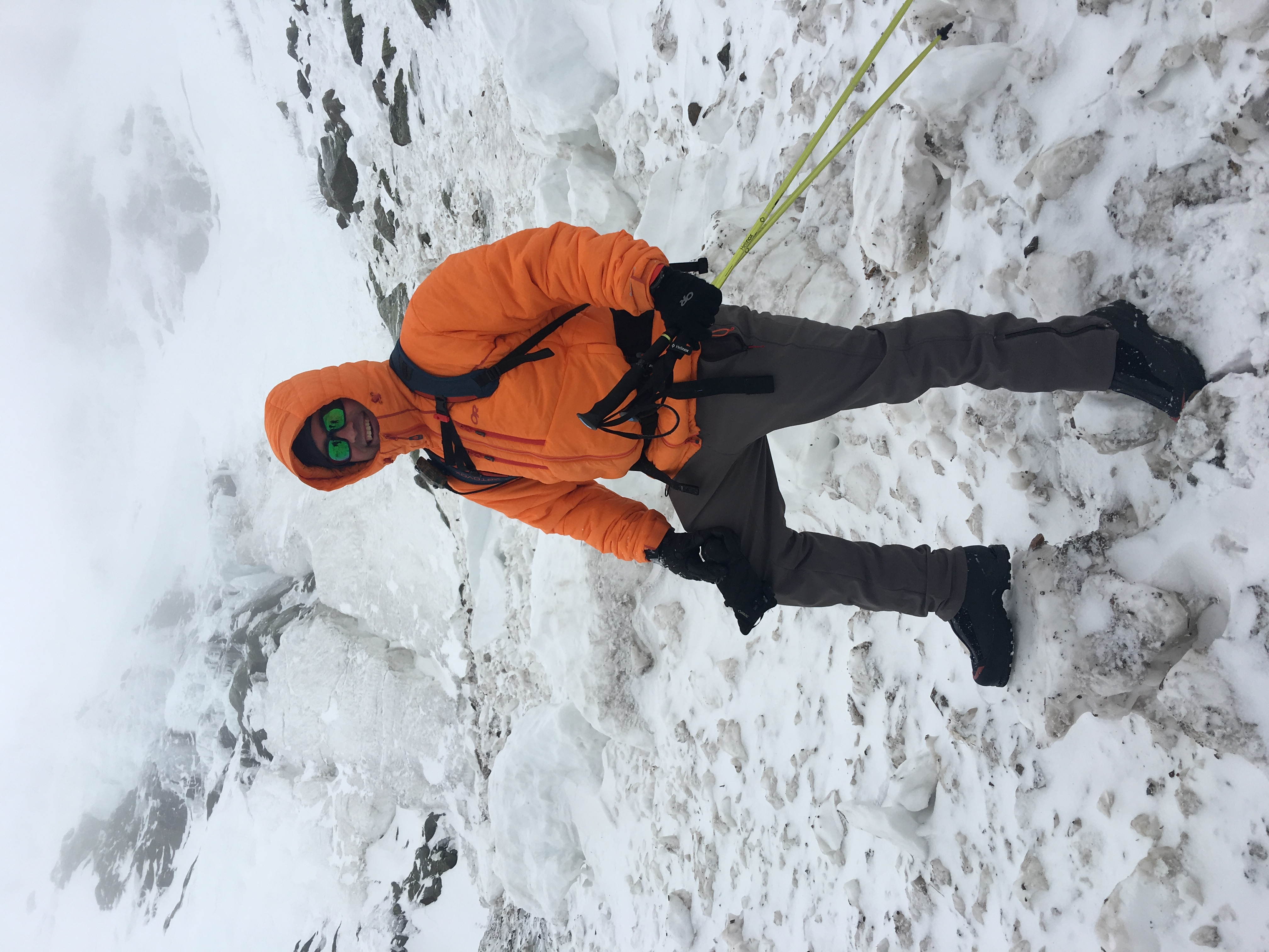 Outdoor Research Belay Parka Review