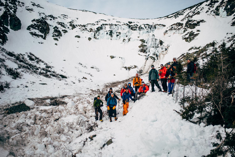 avalanche course tuckerman ravine mount washington