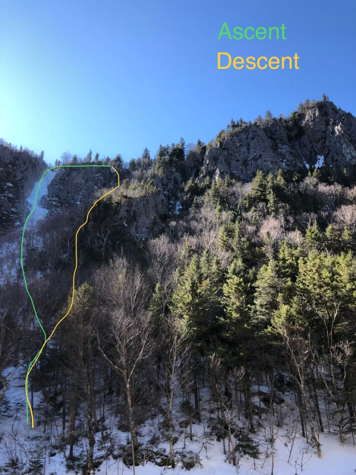 Parasol Gully, Dixville Notch, New Hampshire