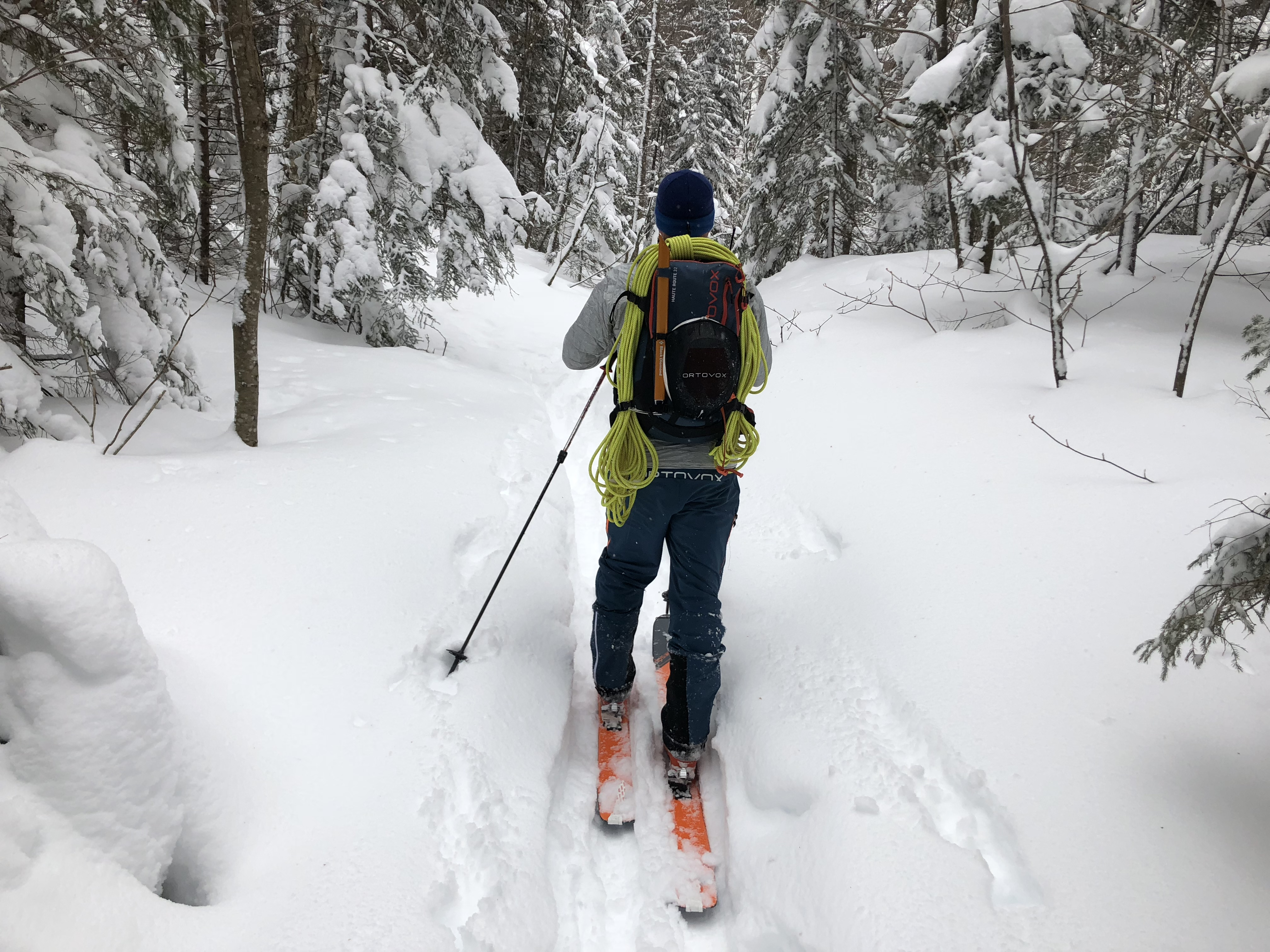 Skiing the Flume, Crawford Notch